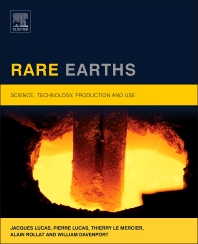Rare Earths - 1st Edition - ISBN: 9780444627353, 9780444627445