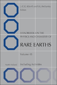 Handbook on the Physics and Chemistry of Rare Earths - 1st Edition - ISBN: 9780444632562, 9780444633309