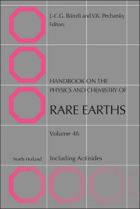 Handbook on the Physics and Chemistry of Rare Earths - 1st Edition - ISBN: 9780444632609, 9780444632647