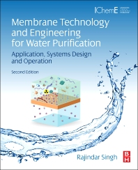 Cover image for Membrane Technology and Engineering for Water Purification