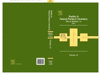 Studies in Natural Products Chemistry - 1st Edition - ISBN: 9780444634306, 9780444634405
