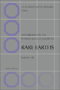 Handbook on the Physics and Chemistry of Rare Earths - 1st Edition - ISBN: 9780444634832, 9780444634849