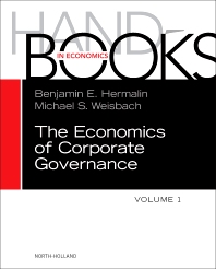 Cover image for The Handbook of the Economics of Corporate Governance