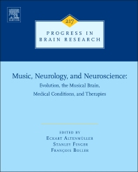 Cover image for Music, Neurology, and Neuroscience: Evolution, the Musical Brain, Medical Conditions, and Therapies