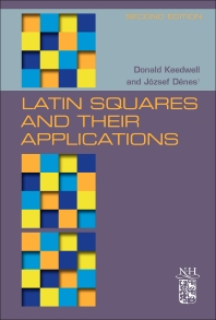 Cover image for Latin Squares and their Applications