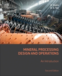 Cover image for Mineral Processing Design and Operations