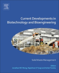 Current Developments in Biotechnology and Bioengineering - 1st Edition - ISBN: 9780444636645, 9780444636751