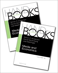 Cover image for Handbook of Media Economics