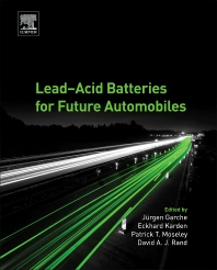 cover of Lead-Acid Batteries for Future Automobiles - 1st Edition