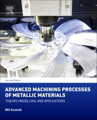 Cover image for Advanced Machining Processes of Metallic Materials