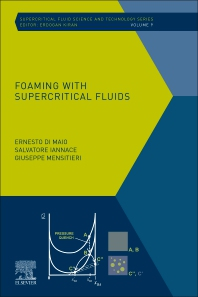 Cover image for Foaming with Supercritical Fluids