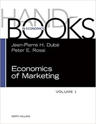 Cover image for Handbook of the Economics of Marketing