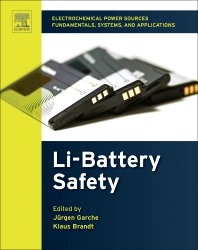 Safety of Lithium Batteries - 1st Edition - ISBN: 9780444637772