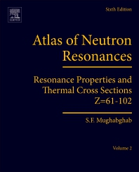 Cover image for Atlas of Neutron Resonances
