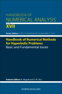 Cover image for Handbook of Numerical Methods for Hyperbolic Problems
