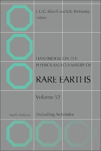 Book Series: Handbook on the Physics and Chemistry of Rare Earths