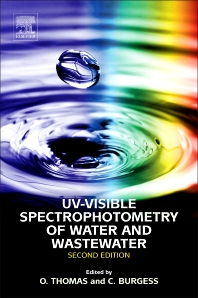 Cover image for UV-Visible Spectrophotometry of Water and Wastewater