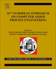 Cover image for 27th European Symposium on Computer Aided Process Engineering