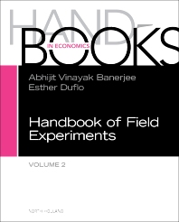 Cover image for Handbook of Field Experiments