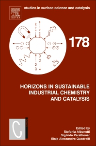 Cover image for Horizons in Sustainable Industrial Chemistry and Catalysis