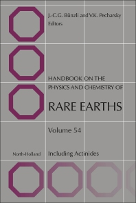 Cover image for Handbook on the Physics and Chemistry of Rare Earths
