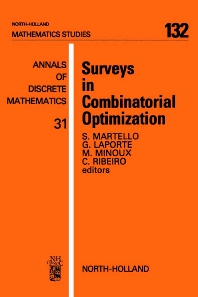 Cover image for Surveys in Combinatorial Optimization