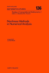 Nonlinear Methods in Numerical Analysis - 1st Edition - ISBN: 9780444701893, 9780080872476