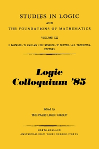 Cover image for Logic Colloquium '85