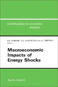 Macroeconomic Impacts of Energy Shocks - 1st Edition - ISBN: 9780444702470, 9781483295459