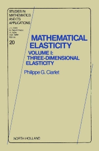 Cover image for Three-Dimensional Elasticity