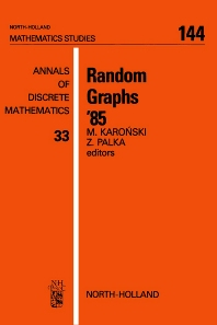 Random Graphs '85 - 1st Edition - ISBN: 9780444702654, 9780080872551