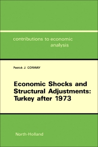 Cover image for Economic Shocks and Structural Adjustments: Turkey after 1973