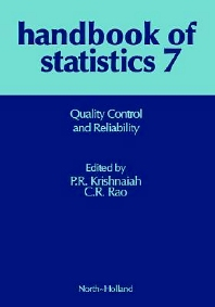 Quality Control and Reliability, 1st Edition,P. R. Krishnaiah,ISBN9780444702906