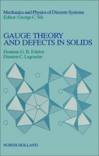 Cover image for Gauge Theory and Defects in Solids