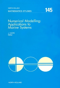 Numerical Modelling: Applications to Marine Systems