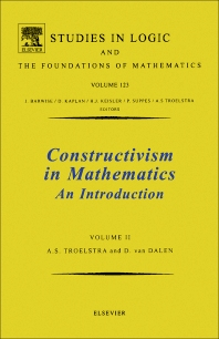 Cover image for Constructivism in Mathematics, Vol 2