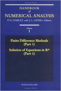 Finite Difference Methods Solutions of Equations in R HNA 1 - 1st Edition - ISBN: 9780444703668, 9780444536679