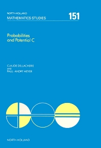 Probabilities and Potential, C - 1st Edition - ISBN: 9780444703866, 9780080872629