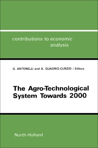 Cover image for The Agro-Technological System towards 2000