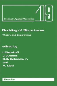 Buckling of Structures - 1st Edition - ISBN: 9780444704740, 9781483290133