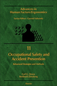 Cover image for Occupational Safety and Accident Prevention