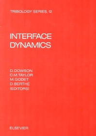 Interface Dynamics - 1st Edition - ISBN: 9780444704870, 9780080875767