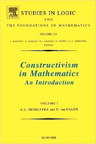 Constructivism in Mathematics - 1st Edition - ISBN: 9780444705068, 9781483275406