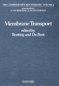 Membrane Transport - 1st Edition - ISBN: 9780444803078, 9780080860602