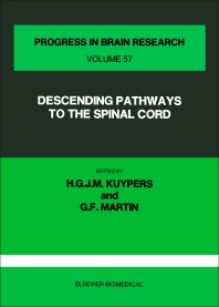 Cover image for Descending Pathways to the Spinal Cord