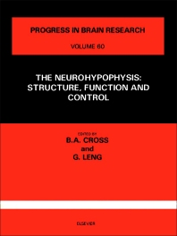 The Neurohypophysis - 1st Edition - ISBN: 9780444804792, 9780080861852