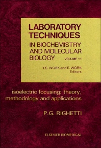Cover image for Isoelectric Focusing: Theory, Methodology and Application