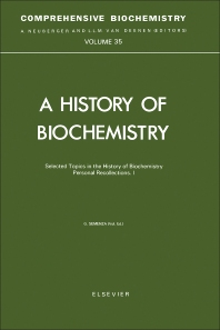 Cover image for Selected Topics in the History of Biochemistry