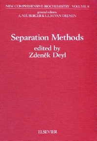 Separation Methods - 1st Edition - ISBN: 9780444805270, 9780080860664