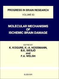 Molecular Mechanism of Ischemic Brain Damage - 1st Edition - ISBN: 9780444806543, 9780080861883